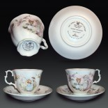 "Bone China Set for Kids From Royal Albert's ""World of Beatrix Potter"" collection.1"